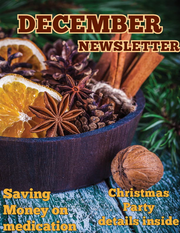 December 2019 Newsletter Cover